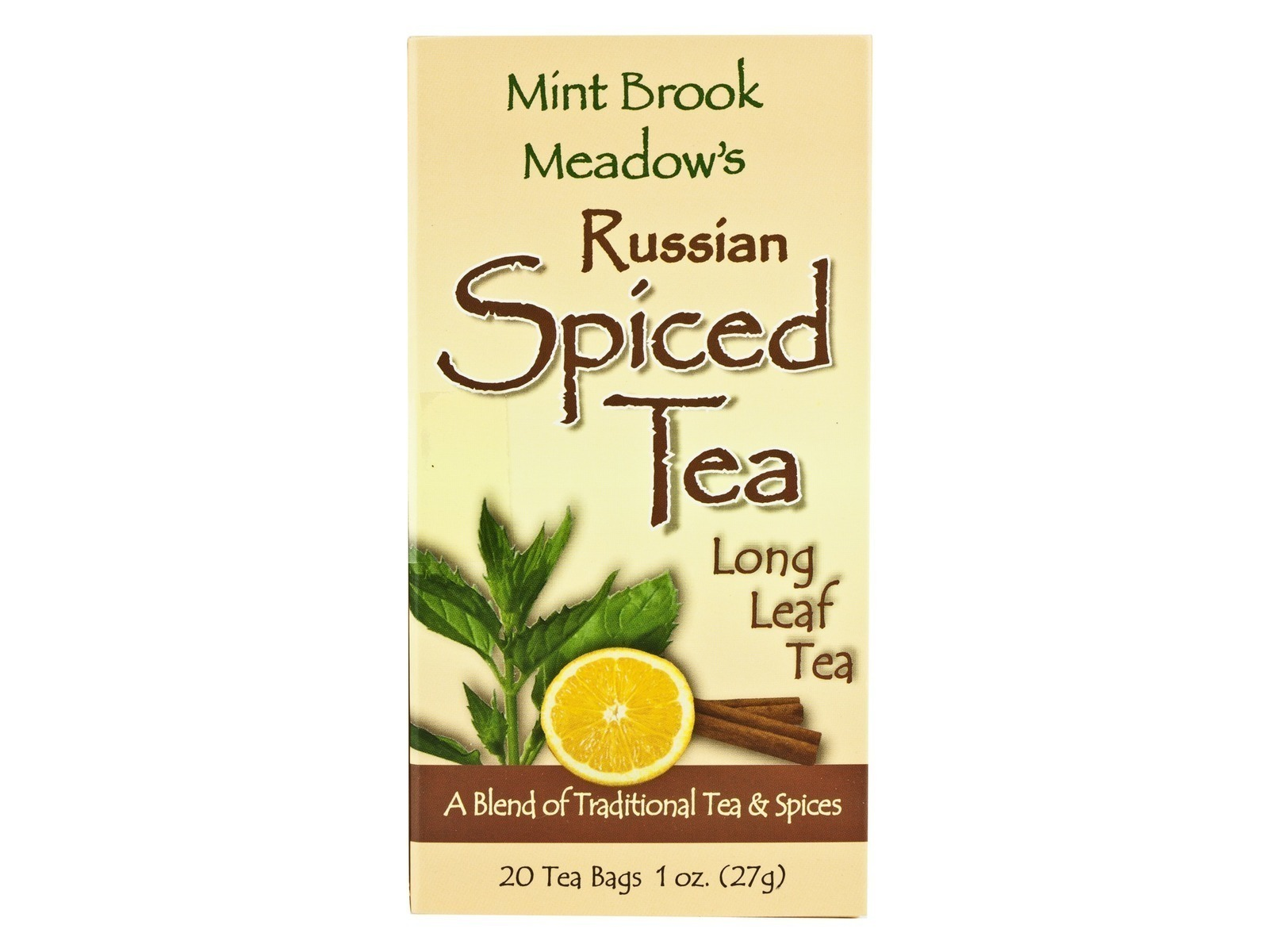 Mint Brooks Meadows Russian Spiced Tea 20ct (6 Cartons)