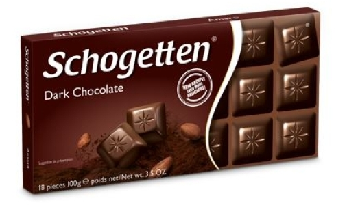 Schogetten dark chocolate with 65% cocoa (3.4oz)